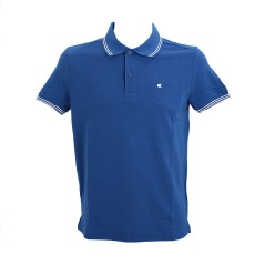 Polo Uomo Easy Fit 100% Cotone blu variante 2