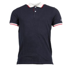 Polo Uomo Easy Fit 100% Cotone blu