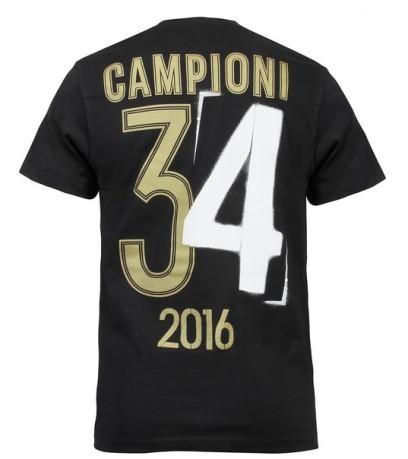 94a100a1f T-Shirt Juventus Champions 34 jr 15 16 colore Black - Adidas ...