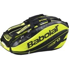 Borsone Pure Aero 12 Racket nero giallo