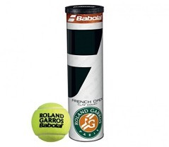 Tubo Palline French Open giallo
