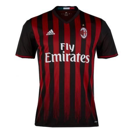 8f9aea3390d028 Maglia Milan Home 16/17 colore Rosso Nero - Adidas - SportIT.com