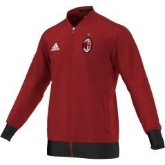 Felpa Uomo Milan rosso 1