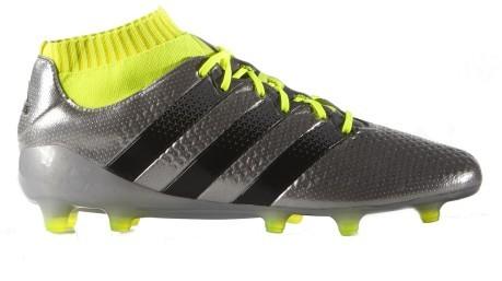 a80e180b5ef8 Botas de Fútbol Adidas Ace 16.1 Primeknit FG colore gris amarillo ...