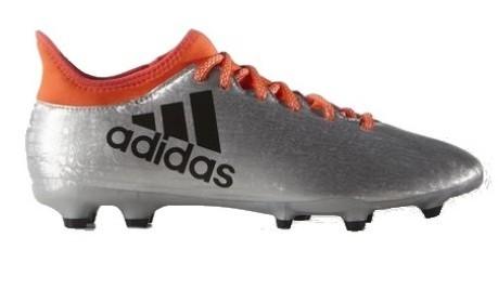 separation shoes 2fddc 6da39 Chaussures de Football X 16,3 FG gris rouge