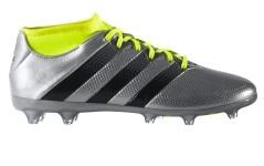 Scarpe Calcio Uomo Ace 16.2 PrimeMesh FG/AG grigio giallo