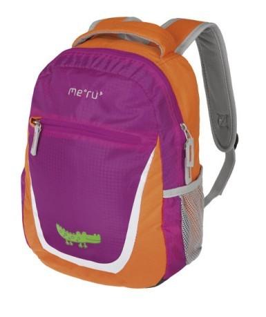 4873fdb60877 Backpack Child Nicky Small 8 L colore Violet Orange - Meru - SportIT.com