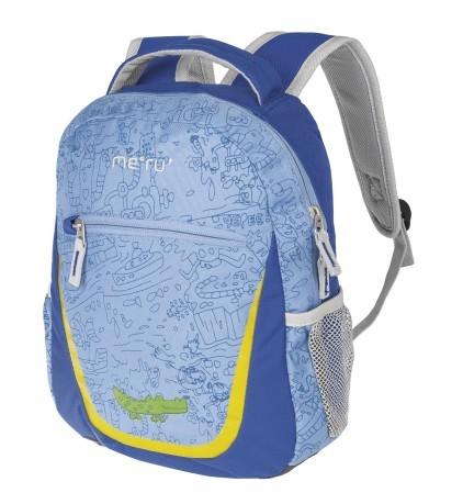 3b027abf108e Backpack Child Nicky Small 8 L colore Light blue Blue - Meru ...