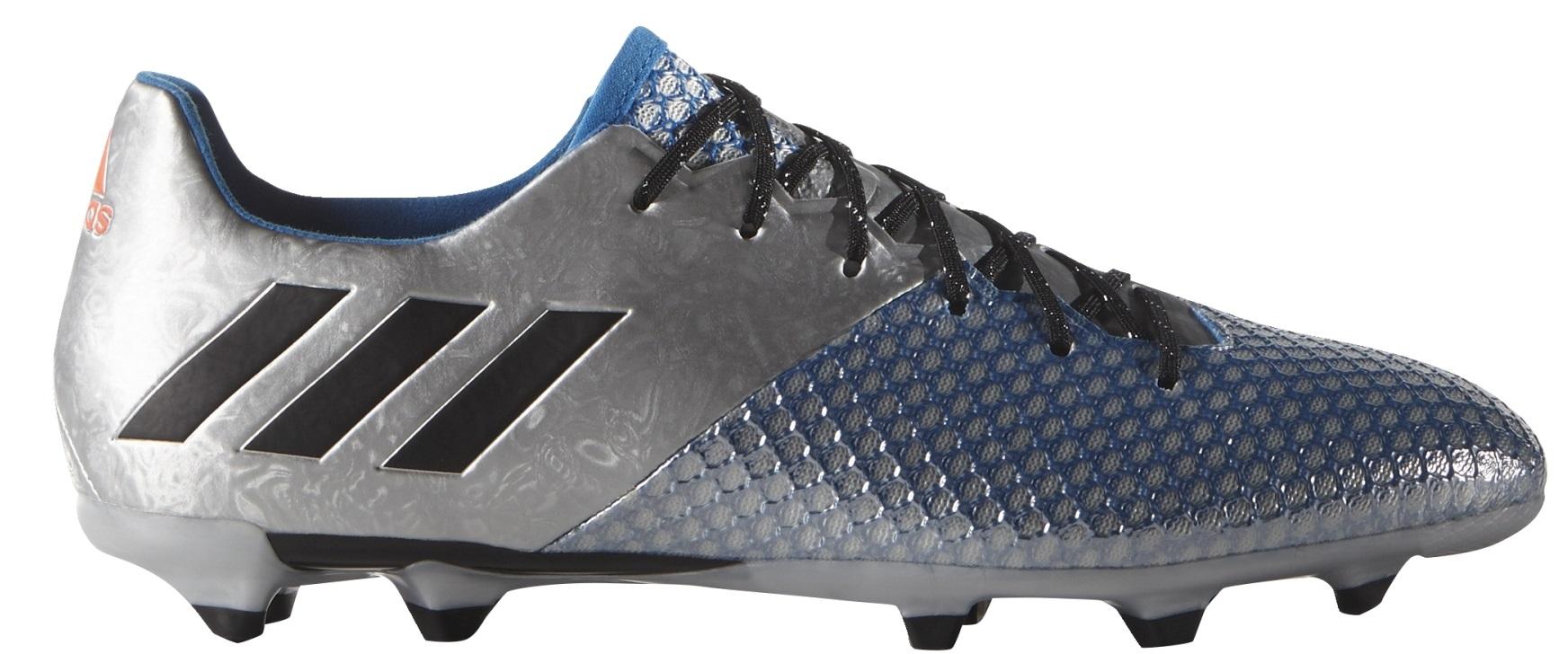 newest 18d0a 6ebbe Shoes Adidas Soccer Messi 16.2 FG colore Grey Blue - Adidas - SportIT.com