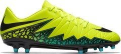 Football boots Hypervenom Phelon II FG yellow red