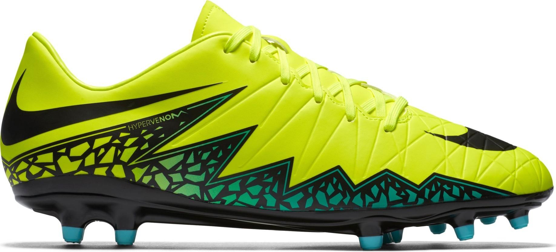 official photos d8f8b 27173 Zapatos de fútbol Nike Hypervenom Phelon FG II para colore amarillo rojo -  Nike - SportIT.com