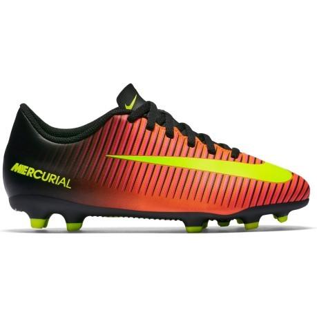Scarpe Calcio Bambino Nike Mercurial Vortex III FG colore Arancio ... 33820ded6d5