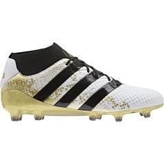 Scarpe Calcio Ace 16.1 Primeknit FG bianco giallo