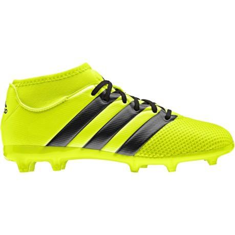 58273e2da24f3 Scarpe Calcio Ragazzo Adidas Ace 16.3 Primemesh FG AG colore Giallo ...