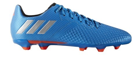 the best attitude bf12c 227a5 Football boots Messi 16.3 FG blue orange