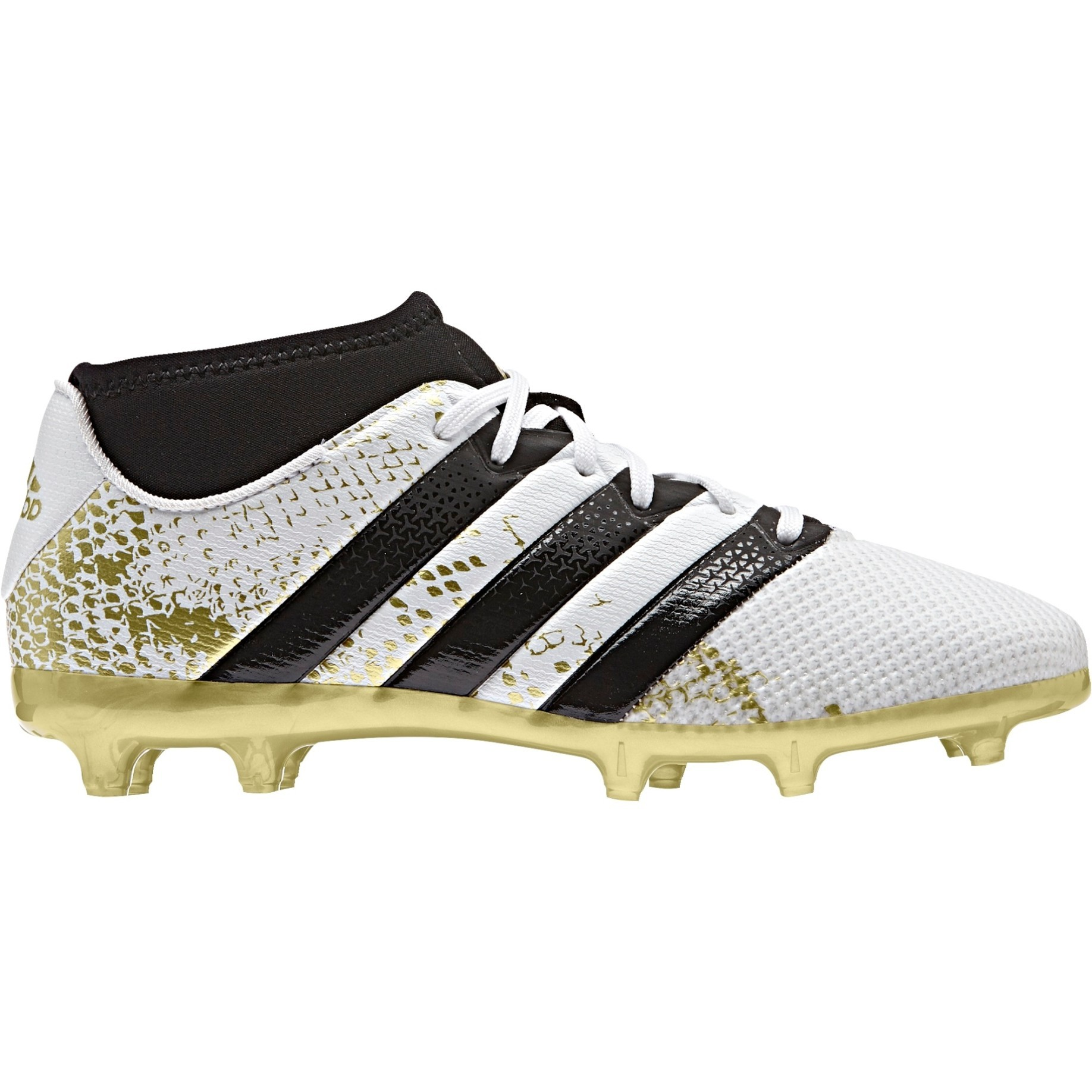 the best attitude c96bb 656ad Soccer shoes Boy Adidas Ace 16.3 Primemesh FGAG colore White Yellow -  Adidas - SportIT.com