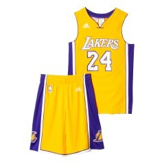 Kit Lakers Bryant giallo-viola
