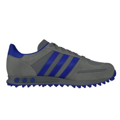 5a1b4ab9955d3 The shoe man L. A. Trainer colore Grey Blue - Adidas Originals ...