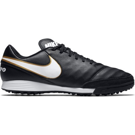 d16b216d95956 Shoes Soccer Nike Tiempo Genio II Leather TF colore Black - Nike ...