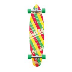 Longboard Dude Based giallo-verde