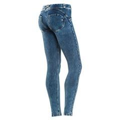Jeans Donna Wrup Delave blu