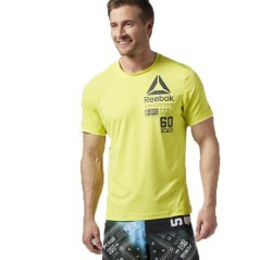 T-Shirt Uomo One Series ActivChill Short Sleeve giallo