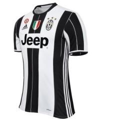 Maglia Calcio Authentic Juventus 2016/17 bianco nero