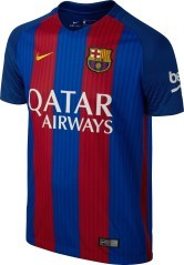 Maglietta Bambino Barcellona rosso-blu