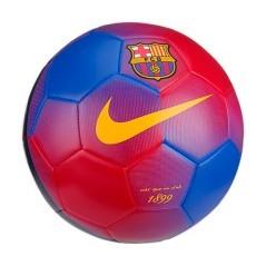 Pallone da calcio Barcellona rosso-blu.