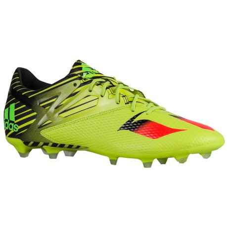 Mens Football boots Messi 15.2 yellow black