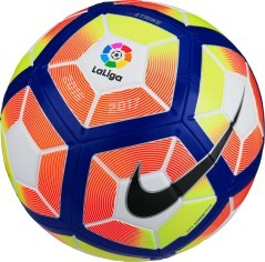 Pallone da calcio Strike LFP bianco-fantasia.