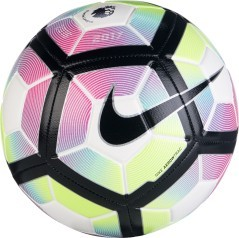 Pallone da calcio Strike Premier League bianco fantasia.