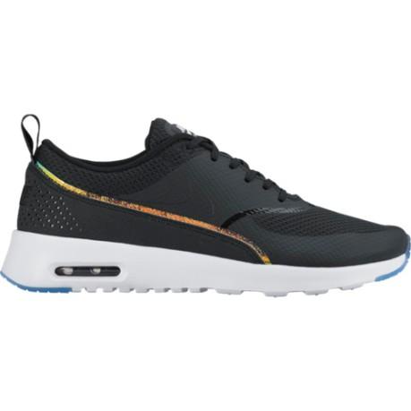 5ecefaba5fa3 Shoes Woman Air Max Thea Premium colore Black White - Nike - SportIT.com
