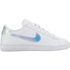 Scarpa Donna Tennis Classic Premium bianco bianco
