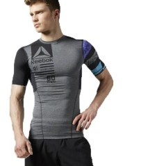 T-shirt Uomo One Series ActivChill Short Sleeve grigio nero