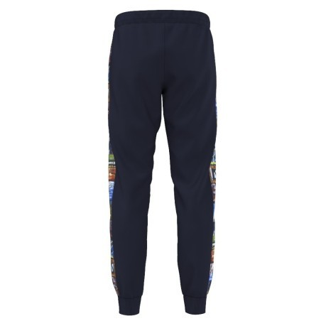 Pantalone Uomo Back To School blu fantasia