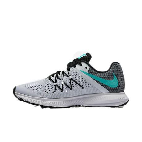 Shoes Women Zoom Winflo 3 colore White Grey - Nike - SportIT.com a5baebbe5e23