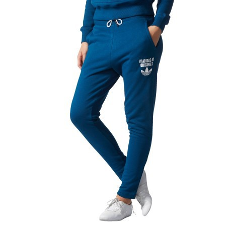 pantaloni adidas donna blu