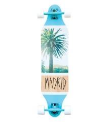 Longboard Weezer 36' Palm bianco-azzurro