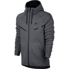 Felpa uomo Tech Fleece Windrunner grigio