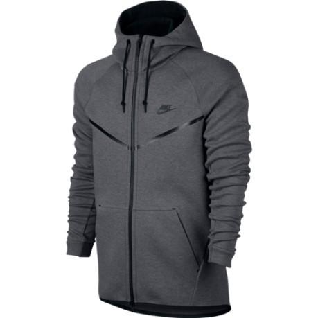 Nike Sportswear Tech Fleece Felpa Grigio Uomo