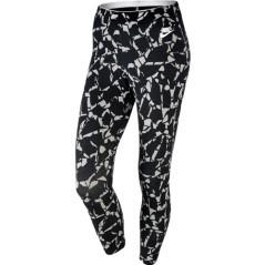 Leggins Sportswear Capri nero-fantasia.