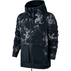 Felpa International Hoodie nero-fantasia