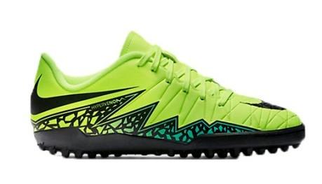 Shoes Football Child Nike Hypervenom Phelon II TF colore Black ... b23e465e9d210