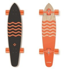 LongBoard Blown Out arancio nero