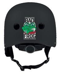 Caschetto Skate Bad Frog  arancio
