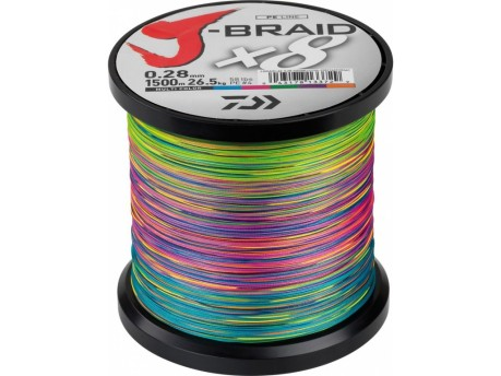 Trecciato J-Braid Multicolr 0,10 mm 150 m