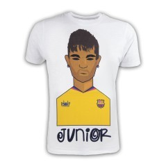 T-Shirt Uomo Neymar Junior bianco