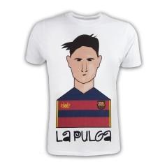 T-Shirt Uomo La Pulga bianco