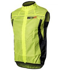 Gilet Wind X-Light giallo